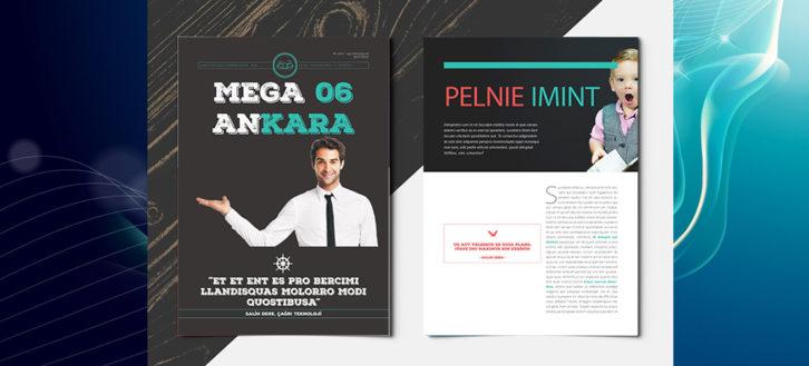 Mega 06 Dergi Tasarımı