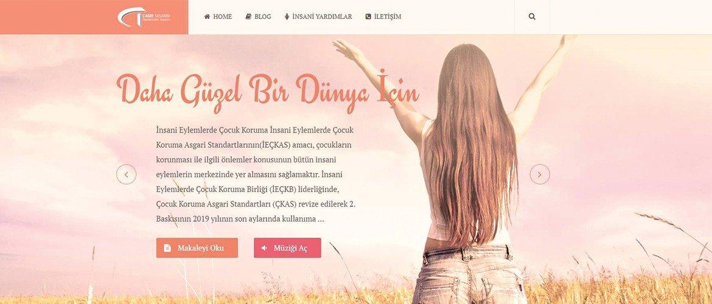 Dernek Web Site Tasarımı