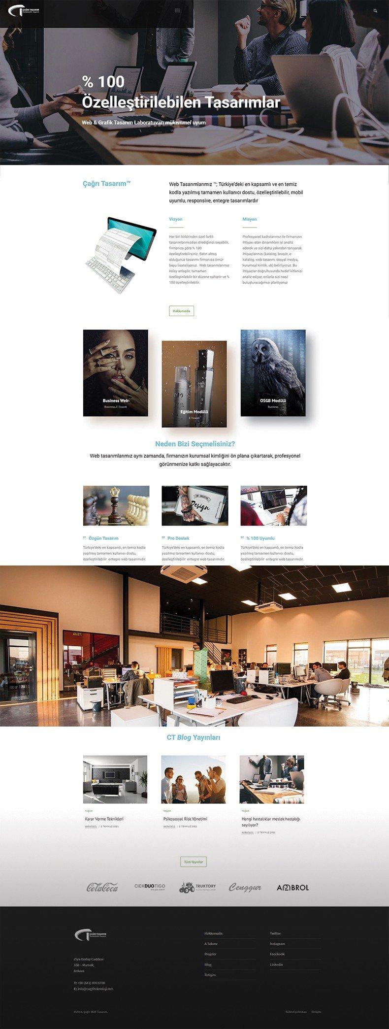 işletme web tasarımı