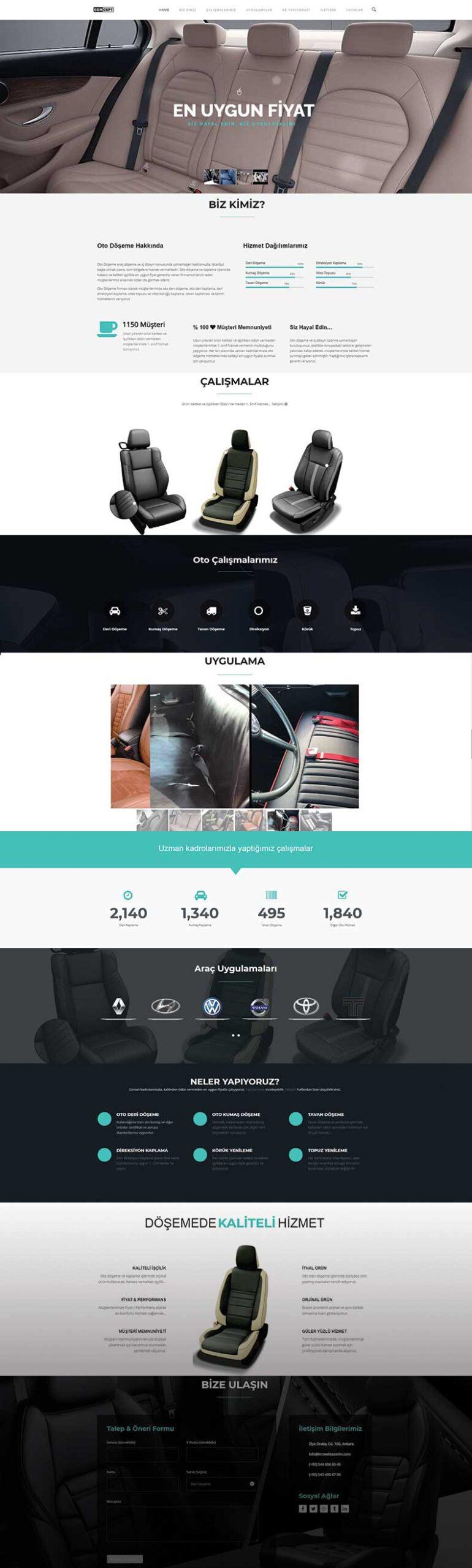 Concept Web Tasarımı